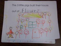 Mrs. Wood's Kindergarten Class: The Three Little Pigs