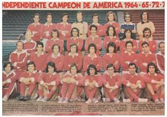 1971 Club Atletico Independiente de Avellaneda
