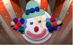 Here is a fun project for preschool children to practice motor skills through cutting and tracing. Decorate a paper plate and make a cute clown design! Download our free template to complete this adorable craft