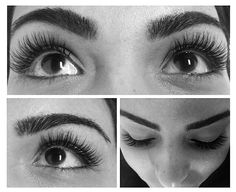 More beautiful lashes over at the Santa Monica Location.
