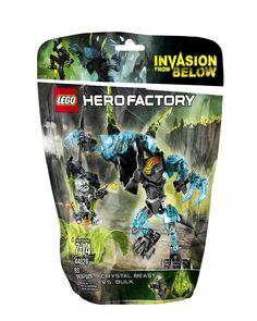 Amazon.com: LEGO Hero Factory Crystal Beast vs. Bulk 44026 Building Set: Toys & Games