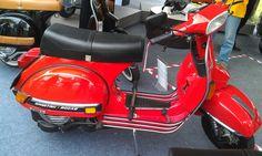 Vespa spartan 200 cc, the legend of scooter
