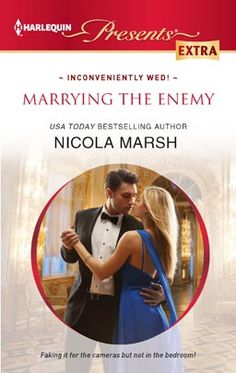 MARRYING THE ENEMY by Nicola Marsh  #Harlequin, #Romance, #books, #read, #women, #publishing