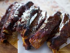 Chinese Style Spare Ribs
