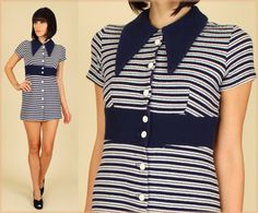 Collar buttons and stripes