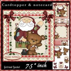 Country Christmas Cardtopper Kit 517 on Craftsuprint - View Now!