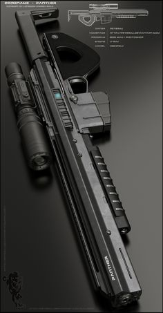 PANTHER Rifle - Main by peterku on deviantART