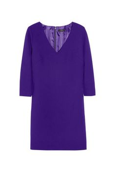 J.Crew purple wool-crepe mini #NYE