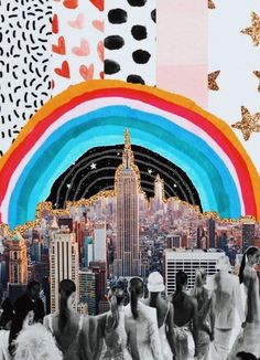 New York City collage Collage Foto, Photo Wall Collage, Picture Wall, Pop Art Collage, Collage Vintage, City Collage, Art Collages, Cute Wallpapers, Wallpaper Backgrounds