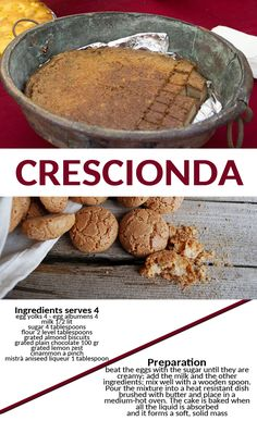 Spoleto food cibo ricette recipes cuisine tipicità Italy Umbria Umbria Italy, Biscuits, Almond, Breakfast, Recipes, Food, Kitchens, Crack Crackers, Morning Coffee