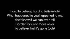 Hard To Believe- Andy Davis Lyrics