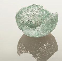 Jess Panza's Pate De Verre Glass Bowls.