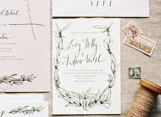 Signora e Mare - organic lettering and calligraphy | Weddings