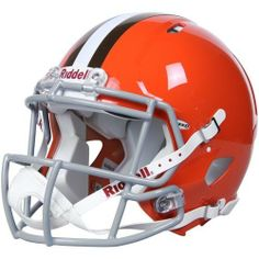 NFL Cleveland Browns Speed Authentic Football Helmet by Riddell. Save 25 Off!. $224.32. Available in official team colors and decals.. With its new distinctive shell design, the Speed helmet is being adopted by premier athletes at a furious pace.. Collectible, not to be worn for play.. Large shell, aggressive facemask, authentic internal padding, and 4-point chinstrap.. Great for autographs.. The Speed Authentic Helmet is the ultimate Cleveland Browns fan collectible helmet. ...