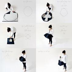 picnic blanket & bag in one