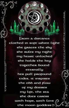 My moon goddess is the Virgin Mary; the moon goddess represents virginity, fertility, and wisdom. Makes sense if you ask me. Wiccan Witch, Wicca Witchcraft, White Witch Spells, Wiccan Magic, Death Metal, Wiccan Quotes, Gypsy Moon, Moon Calendar, Practical Magic