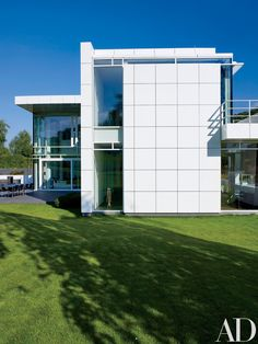 Richard Meier Designs a Minimalist Home in Luxembourg Photos   Architectural Digest