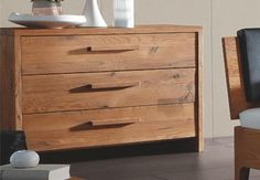 Hasena Cobo Cortina Sion Solid Oak Bed - Head2Bed UK Contemporary Bedroom Furniture, Bedroom Furniture Design, Solid Oak Beds, Modern Headboard, Leather Bed, Under Bed Storage, Rustic Feel, Wooden Handles, Bed Design
