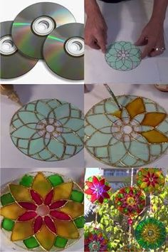 Art Discover diwali recycled cds into decorative tealight stands - paper Kids Crafts Old Cd Crafts Home Crafts Craft Projects Diy And Crafts Arts And Crafts Crafts With Cds Recycled Cds Recycled Crafts Kids Crafts, Old Cd Crafts, Diy Home Crafts, Diy Crafts To Sell, Craft Projects, Arts And Crafts, Crafts With Cds, Paper Crafts, Recycled Cds