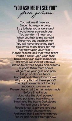 Miss you Dad The Words, Citation Souvenir, Letter From Heaven, Grief Poems, Mum Poems, Miss My Mom, Miss You Daddy, Grieving Quotes, Funeral Poems