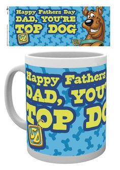 Scooby Doo Mummy Fathers Day Top Dog - Vaderdag Mok