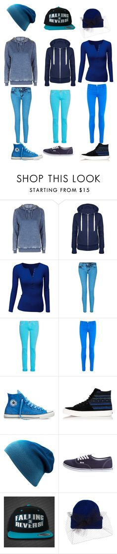 """Fourth of July blue outfits 2"" by avril-lavigne-fan-forever ❤ liked on Polyvore featuring Topshop, Doublju, Current/Elliott, J Brand, Converse, Vans and Silver Spoon Attire"