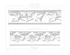 Notre Dame Paris Ornaments Architectural Print Cornice 1856 Gothic Architecture