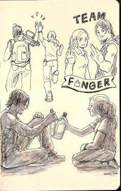 Bethyl fan art. <3 it!