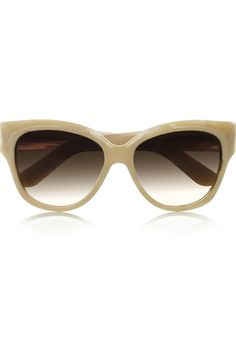 Yves Saint Laurent Horn-effect Acetate D-frame Sunglasses From Net-a-porter.com