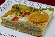 Empanada de los Reyes Magos Empanada, Reyes, Sweet Recipes, Cheesecake, Pie, Bread, Desserts, Food, Spanish