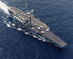 USS Forrestal  (CV59) - the ship my dad served on