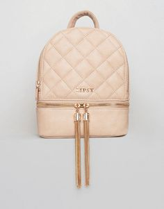 bffd737c64a5 Quilted Tassel Mini Backpack by Lipsy. Backpack by Lipsy
