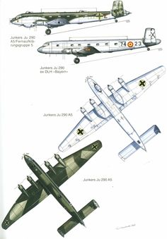 Ju 290 | Weapons and Warfare Luftwaffe, Aviation World, Aviation Art, Ww2 Aircraft, Military Aircraft, Airplane Fighter, Flying Boat, Ww2 Planes, Aircraft Design