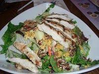 Colony House Salad with Honey-Shallot Vinaigrette - Liberty Tree Tavern (Magic Kingdom)