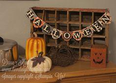 Stampin' Up! Halloween Banner
