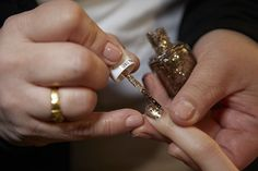 NYFW Fall 2015 - Beauty Trends - Sparkly Accents - Nanette Lepore