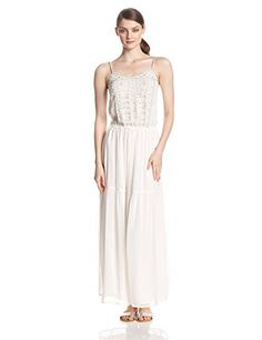 French Connection Women's California Dreaming Embellished Detail Dress, Winter White, 4 - http://womencontemporarydress.ellprint.com/french-connection-womens-california-dreaming-embellished-detail-dress-winter-white-4/