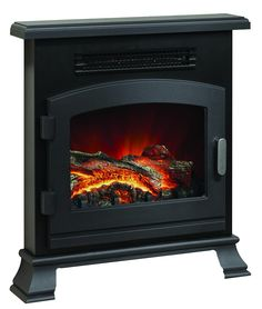 Be Modern Banbury LED Inset Electric Stove - Anthracite