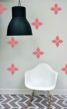 Flower Burst   WALL DECAL by TheLovelyWall on Etsy, $40.00