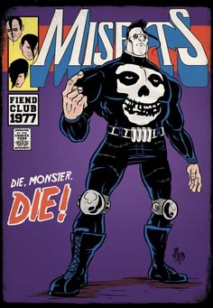 What if all the great American punk heroes had their own classic comic book titles?