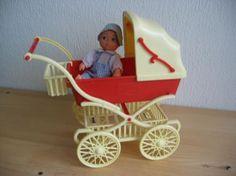 Marktplaats.nl - Barbie Fleur kinderwagen jaren 70 incl. doos - Poppen