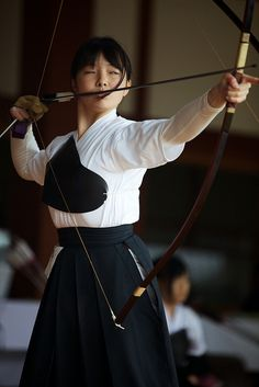 Kyudou Tournament by Nishi Drew, via Flickr