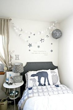 This Star Wars Nursery Is Cuter Than an Ewok — (Yep, There's a DIY Death Star) | Apartment Therapy