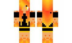 minecraft skin cool-fire-girl Find it with our new Android Minecraft Skins App: https://play.google.com/store/apps/details?id=studio.kactus.girlskins