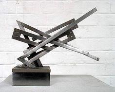 Modern Art Sculpture, Steel Sculpture, Metal Sculptures, Abstract Shapes, Heavy Metal, Modern Contemporary, Arts And Crafts, Fine Art, Welding