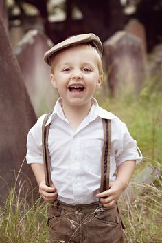 the most adorable ring bearer EVER. in love with the hat.