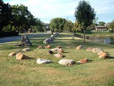 The location is the historic Native Americans Healing Waters located in Willow Springs, IL. The Native Americans knew that they came to the area because of the boulders being laid from North to South and the circle of boulders would hold the ceremonial flame. The Native Americans would come to this location to be cared for until healed. The supernatural activity that individuals have reported is that there are nights that drumming and chanting is being heard