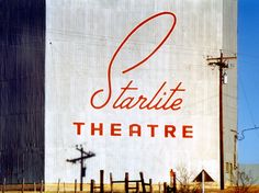 Starlite Drive-in Theatre, Outside Austin TX by danagraves, via Flickr