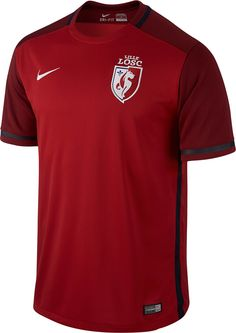 Lille LOSC (France) - 2015/2016 Nike Home Shirt