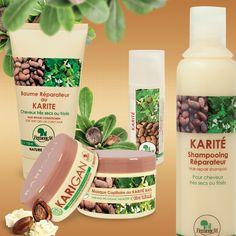 Les actifs présents dans ce kit fonctionnent en synergie. À chacune des 4 étapes (laver, réparer, nourrir, sublimer), les agents actifs offrent tous leurs bienfaits pour les cheveux. Au cœur de ce processus, notre beurre de karité biologique associé à l'huile d'argan biologique donne le meilleur de leur action nourrissante et réparatrice. Le coffret comprend un turban en fibre bambou pour laisser reposer les cheveux après les soins. KAR01 + KAR05 + KAR15 + KAR20 + TURBAN BAMBOU